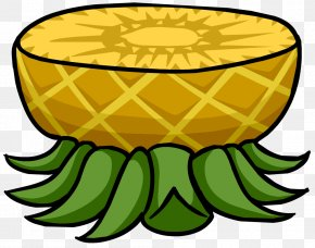 Pineapple - Club Penguin Island Smoothie Igloo Table PNG
