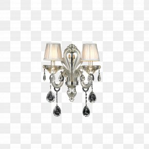 Wall Lamp - Restaurant Painting Lamp PNG