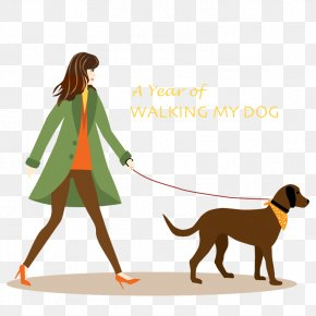 Pictures Of Dogs Walking - Dog Walking Puppy Pet Sitting Clip Art PNG