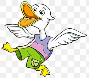 Line Art Water Bird - Bird Duck Cartoon Ducks, Geese And Swans Beak PNG