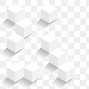 White Cube Design Material - White Cube PNG