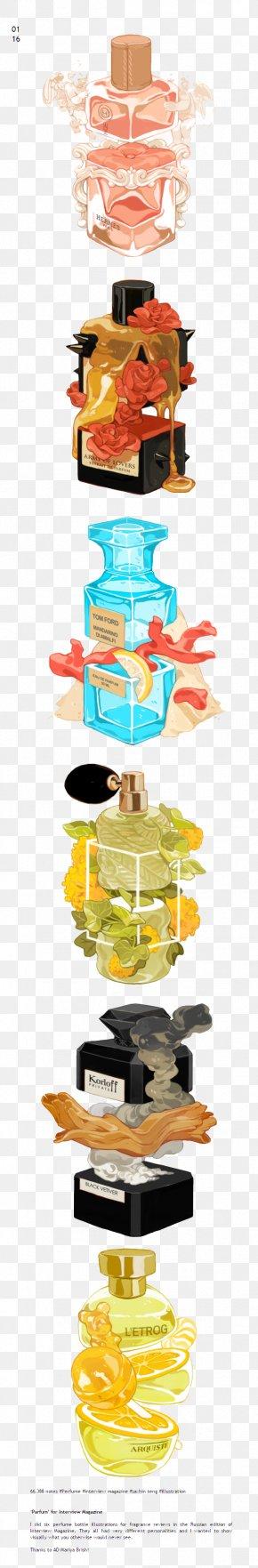 Perfume Bottle - Bottle Perfume Illustration PNG