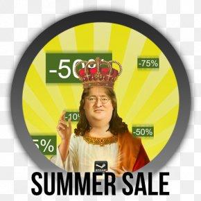 Summer Sale - Gabe Newell Video Game Mafia III DayZ Xbox One PNG