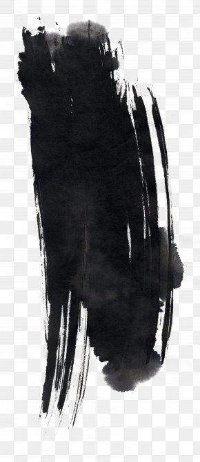 Chinese Style Black Ink - Ink Brush Pen PNG