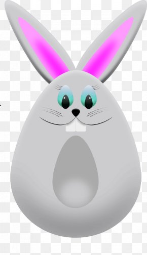Easter Bunny Graphics - Easter Bunny Easter Egg Rabbit Clip Art PNG