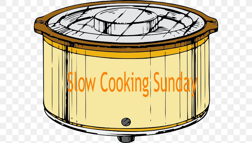 Slow Cookers Crock Olla Clip Art, PNG, 600x466px, Slow Cookers, Aluminium Foil, Chili Con Carne, Chili Mac, Cooker Download Free