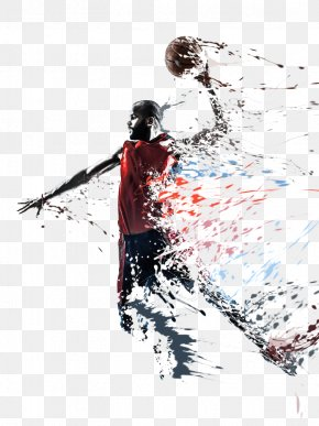 Elapsed Basketball - Basketball Player Slam Dunk Sport Stock Photography PNG