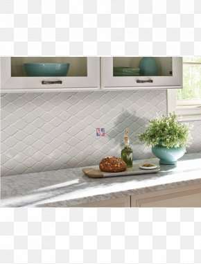 Tear Drop - Herringbone Pattern Tile Fliesenspiegel Kitchen Wall PNG