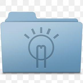 Idea Folder Blue - Brand Rectangle Font PNG