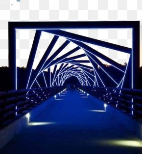 2017+ Tunnel + Time Tunnel - High Trestle Trail Bridge Madrid Woodward Des Moines River PNG