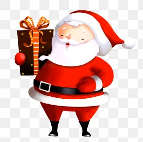 Santa Claus Pattern - Santa Claus Christmas Ornament Clip Art PNG