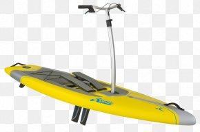 Color Graphics - Standup Paddleboarding Hobie Cat Kayak PNG