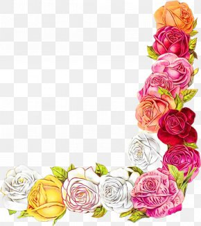Floristry Flower Arranging - Watercolor Pink Flowers PNG