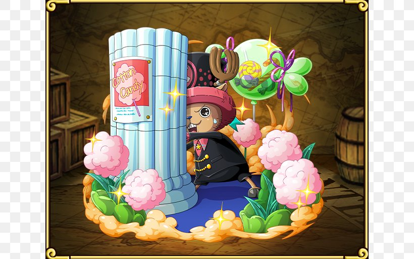 One Piece Treasure Cruise Tony Tony Chopper One Piece: Pirate Warriors Roronoa Zoro Monkey D. Luffy, PNG, 640x512px, Watercolor, Cartoon, Flower, Frame, Heart Download Free
