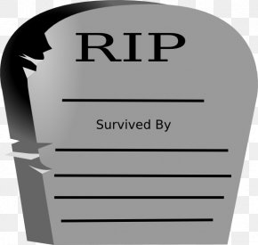 Cemetery - Headstone Cemetery Rest In Peace Grave Clip Art PNG