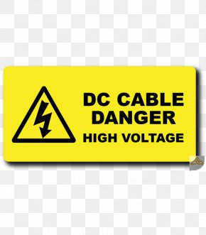 Electricity Warning Label Power Outage Electric Power PNG