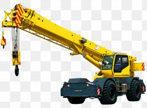 White Crane - India Mobile Crane Heavy Machinery Architectural Engineering PNG