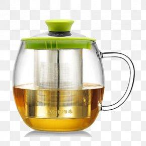 Glass Bulb Flowers And Green Fruit Pot - Glass Teapot Flower PNG