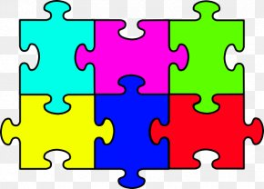 Puzzle Cliparts - Jigsaw Puzzle Free Content Clip Art PNG