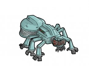 Cartoon Ant Pictures - Mecha Cartoon Clip Art PNG