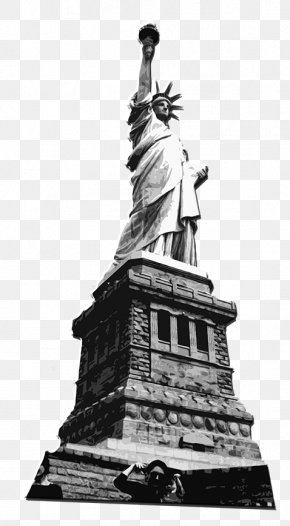 Statue Of Liberty - Statue Of Liberty National Monument Sculpture PNG