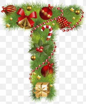 Christmas - Christmas ABC English Alphabet Letter PNG