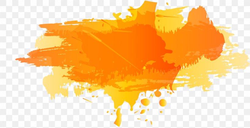Color Ink Png 2264x1168px Orange Color Drawing Illustration Ink Download Free