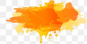 Color Ink Splashes Vector Material [conversion] 1 - Color Ink PNG