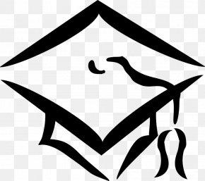 Small Black Graduation Cap - Graduation Ceremony Square Academic Cap Desktop Wallpaper Clip Art PNG