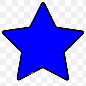 Blue Star - Supergiant Star Blue Clip Art PNG