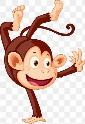 Monkey - Chimpanzee Monkey Ape PNG