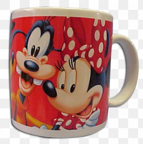 Mickey Mouse - Coffee Cup Mickey Mouse Goofy Minnie Mouse Pluto PNG