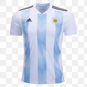 T-shirt - 2018 World Cup Argentina National Football Team T-shirt Copa América Spain National Football Team PNG