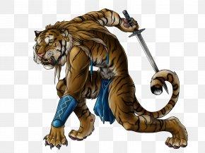 Warrior - Dungeons & Dragons Tiger Pathfinder Roleplaying Game Rakshasa Legendary Creature PNG
