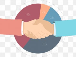 Business Handshake - Flat Design Stock Photography Royalty-free PNG