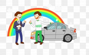 Taxi Driver - Taxi Cartoon Drawing PNG