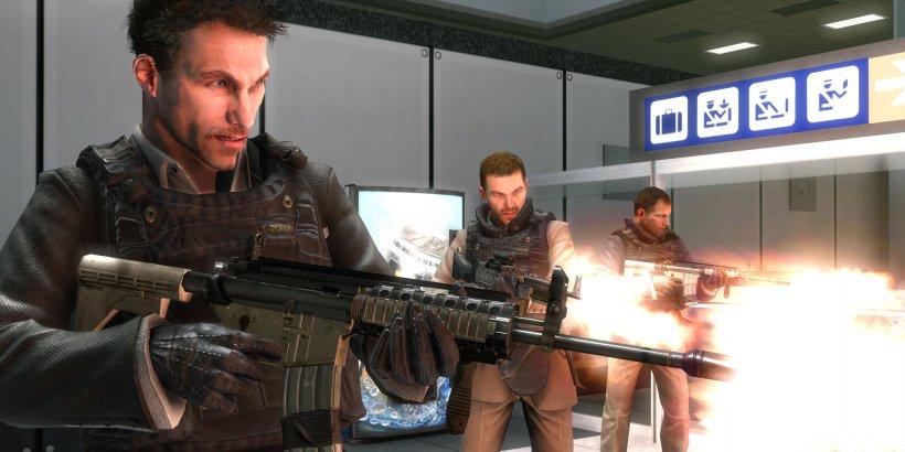 Call Of Duty: Modern Warfare 2 Call Of Duty 4: Modern Warfare Call Of Duty: Modern Warfare 3 Call Of Duty: Black Ops III, PNG, 2049x1025px, Watercolor, Cartoon, Flower, Frame, Heart Download Free