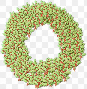 Lei Christmas Decoration - Christmas Decoration Cartoon PNG