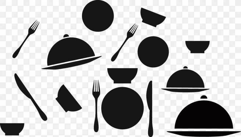 Icon Design Catering, PNG, 1105x629px, Icon Design, Black, Black And White, Brand, Catering Download Free