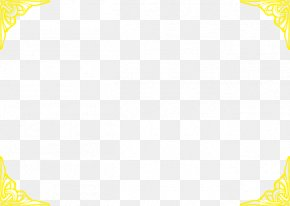 China Wind Exquisite Pattern Border - Yellow Area Pattern PNG