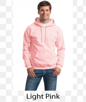 Pink Light - Hoodie Long-sleeved T-shirt Gildan Activewear Clothing PNG