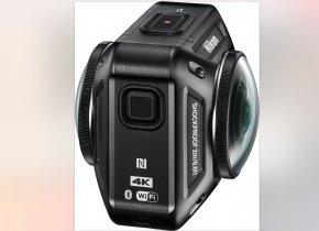 360 Camera - Nikon KeyMission 360 Action Camera Video Cameras 4K Resolution PNG
