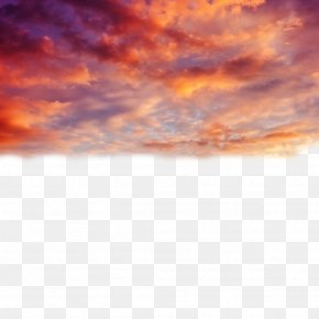 Beautiful Sunset - Cloud Sunset Sky PNG