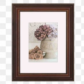 Solid Wood Creative Photo Frame - Oil Painting Picture Frame Palette Knife PNG