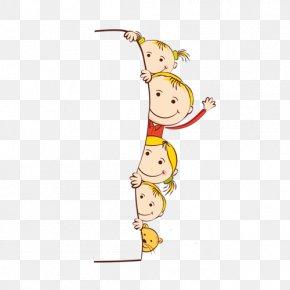 Child - Child Cartoon Illustration PNG