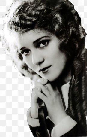 Actor - Mary Pickford Hollywood Silent Film Actor PNG