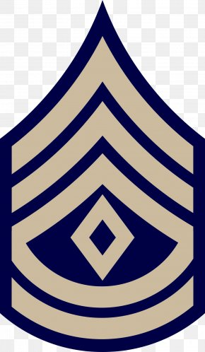 Military - First Sergeant Sergeant First Class Military Rank United States Army Enlisted Rank Insignia PNG