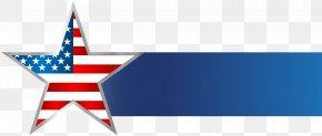 USA_Star Banner Clip Art Image - United States Banner Information Clip Art PNG