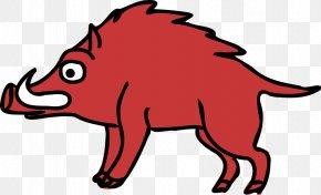 Cartoon Wild Boar - Royalty-free Clip Art PNG