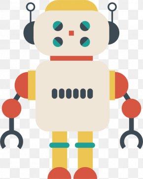 Cartoon Robot Design Vector Material - Robot Euclidean Vector Plot PNG